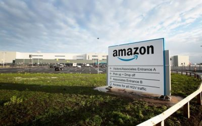 New Amazon's Fulfilment Centre in Darlington