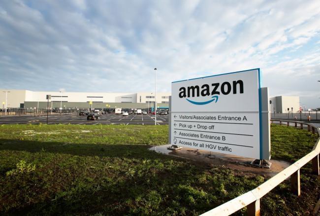 New Amazon's Fulfilment Centre in Darlington